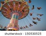 Swing Ride At Fair
