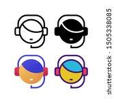 customer service logo icon...