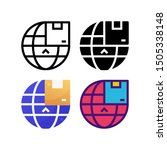 global delivery logo icon...