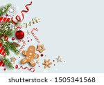 light card with festive... | Shutterstock .eps vector #1505341568