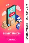 delivery online tracking... | Shutterstock .eps vector #1505349575