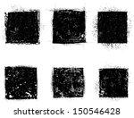 grunge shapes    Shutterstock .eps vector #150546428