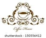 vector vintage coffee icon