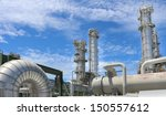 chemical plant on day time | Shutterstock . vector #150557612