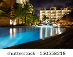 Swimming Pool At Caribbean...