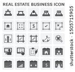 real estate business vector... | Shutterstock .eps vector #1505715905