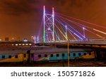 nelson mandela bridge at night. ... | Shutterstock . vector #150571826