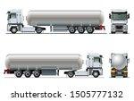vector realistic tanker truck... | Shutterstock .eps vector #1505777132