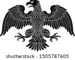 eagle possibly german  roman ... | Shutterstock .eps vector #1505787605