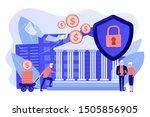 senior people savings fund ... | Shutterstock .eps vector #1505856905