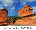 Balanced Rock In Garden Of...