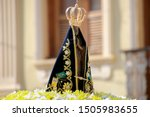 statue of the image of our lady ... | Shutterstock . vector #1505983655
