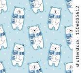 Seamless Cute Pattern  Polar...