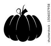 halloween pumpkin character....   Shutterstock .eps vector #1506037958