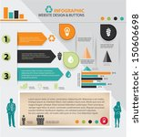 ecology and human resource... | Shutterstock .eps vector #150606698
