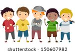 stickman illustration featuring ... | Shutterstock .eps vector #150607982