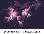 tender abstract background with ... | Shutterstock .eps vector #1506086315