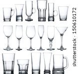 collage of various glasses | Shutterstock . vector #150610172