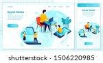 vector cross platform... | Shutterstock .eps vector #1506220985