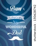 father's day | Shutterstock .eps vector #150628742