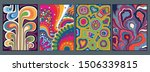 psychedelic backgrounds  poster ...   Shutterstock .eps vector #1506339815