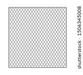 realistic detailed 3d metal...   Shutterstock .eps vector #1506345008