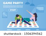 flat game party informational... | Shutterstock .eps vector #1506394562