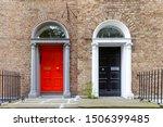 Colorful Georgian Doors In...