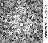 seamless hand drawn background... | Shutterstock .eps vector #150641915