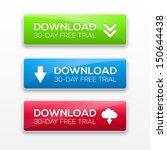 vector illustration of download ... | Shutterstock .eps vector #150644438