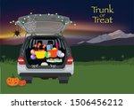 Trunk Or Treat Halloween...