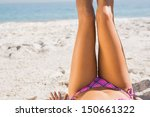 close up of young womans legs... | Shutterstock . vector #150661322