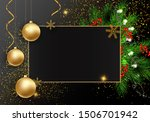 holidays greeting card for...   Shutterstock .eps vector #1506701942