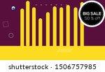 sale banner template design 50  ...   Shutterstock .eps vector #1506757985