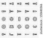bolzen,bau,gerät,element,stellenangebote,ausrüstung,grafik-design,symbol,nagel,teil,symbol,reparatur,schraube,satz,stahl