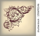 abstract,acanthus,antique,baroque,border,calligraphic,calligraphy,card,classic,corner,deco,decor,decoration,decorative,design