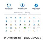 humans group  society creative...   Shutterstock .eps vector #1507029218