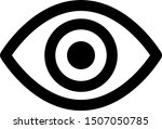 eye icon vector design for app  ...