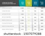 multipurpose table layout... | Shutterstock .eps vector #1507079288