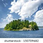 Small Rocky Island In Georgian...