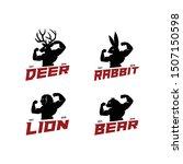Deer Elk Lion Rabbit Bunny Bear ...