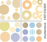 circle shape with japanese... | Shutterstock .eps vector #1507152305