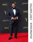 Small photo of LOS ANGELES - SEP 14: Anthony Anderson at the 2019 Primetime Emmy Creative Arts Awards at the Microsoft Theater on September 14, 2019 in Los Angeles, CA