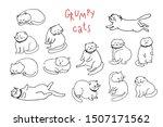 hand drawn illustration of... | Shutterstock .eps vector #1507171562