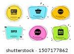 super symbol. best seller ... | Shutterstock .eps vector #1507177862