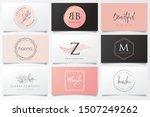 feminine logos and special...   Shutterstock .eps vector #1507249262