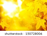 Abstract Autumn Fall Yellow...