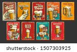 beer collection advertising... | Shutterstock .eps vector #1507303925