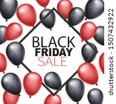 black friday sale banner design ... | Shutterstock .eps vector #1507432922