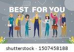 modern construction company ... | Shutterstock .eps vector #1507458188